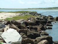Fort Sumter little beach