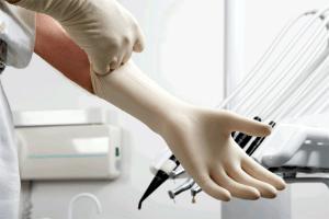 Dentist's glove