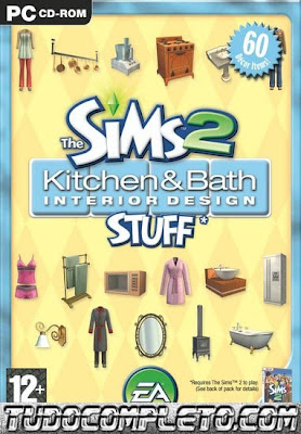 The Sims 2: Kitchen & Bath Interior Design Stuff (PC Expansão) Download Completo