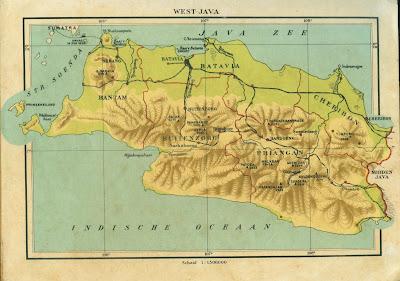 Hasil gambar untuk peta jawa barat jaman dulu