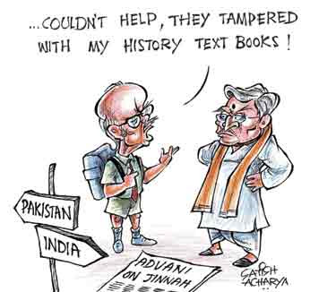 Could Advani have made such a misstep ...!