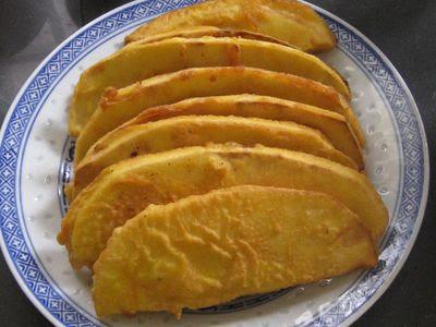 Fried Buah Sukun Breadfruit Fritters  Beachloverkitchen