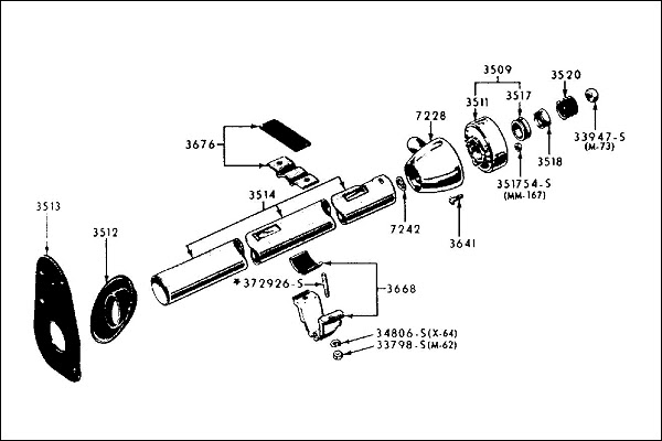 1967 Chevelle Steering Column Diagram
