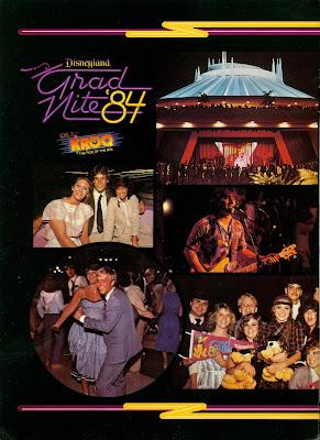 Vintage Disneyland Tickets Grad Nite  1984