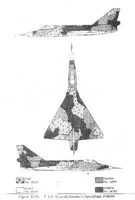 Aviation Heritage: F-106 Delta Dart camo pattern