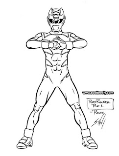 Scott Neely's Scribbles and Sketches!: POWER RANGERS