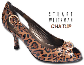 Leopard Chatup Pump from Stuart Weitzman