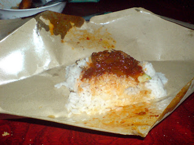 The inside of Nasi Katok