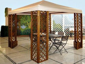 Gazebo on The Porch