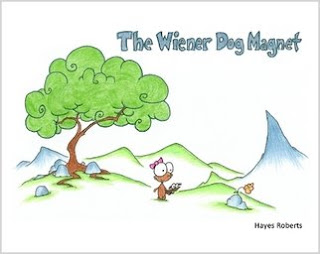 The Wiener Dog Magnet by Hayes Roberts
