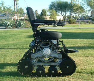 tank chair wheelchair white metal remember check out it s bad ass little brother rollingpix quite a long while back i posted on the military grade juggernaut that is well now has newer sportier much faster masterpiece from