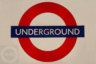 Logotipo del metro londinense
