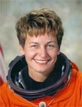 NASA astronaut Peggy Whitson, the first female commander of the International Space Station