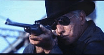 The man with no eyes a boss/guard from Cool Hand Luke.