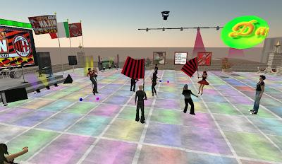 Festa per il grande Milan in discoteca SL