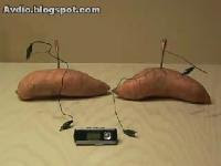 Potato Powered MP3 Player