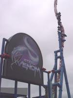 Steel Venom Roller Coaster - Geauga Lake