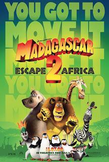 Madagascar 2 Teaser Poster