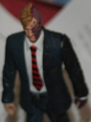 Action Figure of Two Face from the Dark Knight movie