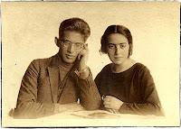 Jacek Goldman and his Sister Wanda, Krakw, 1924