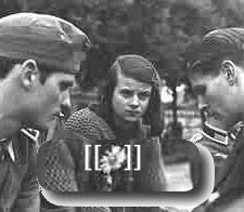 Hitler took secretary Traudl Junge to another room. But one day she went past the memorial plaque which had been put up for Sophie Scholl in Franz Josef Strasse
