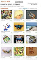 Etsy Treasury List - Coastal Bend of Texas