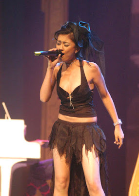 Agnes Monica's Sexy Stage Costumes