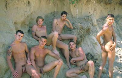 nude male models with erections