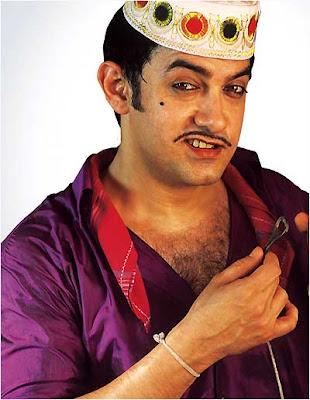 Aamir khan in unique style wallpaper