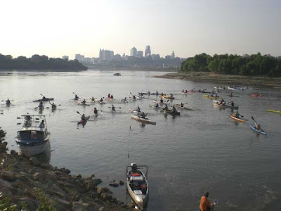 The MR340 at Kaw Point