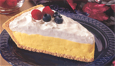 FLUFFY LEMON BERRY PIE 1