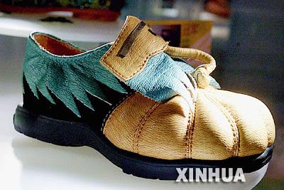 Pumpkin Shoe