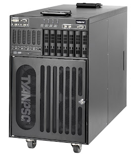 TyanPSC T-650 series personal supercomputers powered by Intel's 50-watt quad-core Xeon processors
