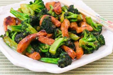 Stir-Fry with Pork and Broccoli