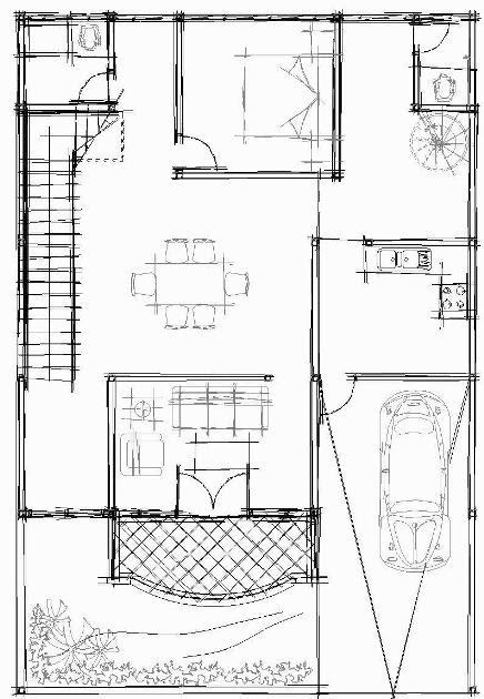 Membuat Gambar Sketch dengan AutoCAD dengan sangat mudah