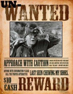Un-wanted poster