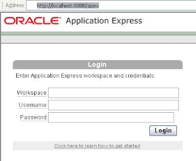 Oracle APEX in 11g Installation | Ittichai Chammavanijakul