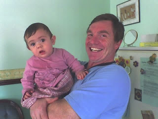 My Dad and little angel, taken September 2005