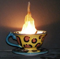 My Big Bad Blog Of Craft: Steamy Coffee Cup Lamp