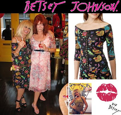 Betsey Johnson is celebrating 30 years in fashion this week.