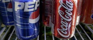 Coke and Pepsi, I will not bend over for you anylonger!!