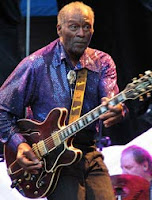Chuck Berry dono absoluto do primeiro lugar