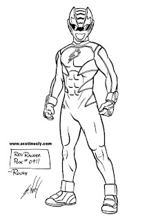 Scott Neely's Scribbles and Sketches!: GO, GO, POWER
