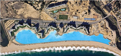 The Largest man-made salt water lagoon in the world