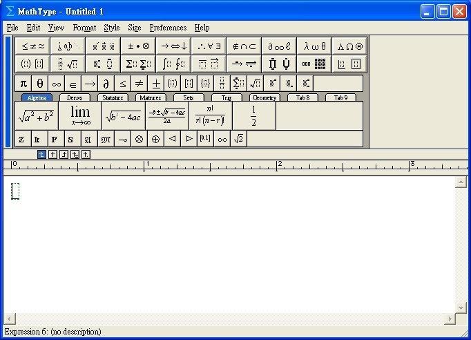 Taiwan's 生活: MathType - 數學公式編輯器