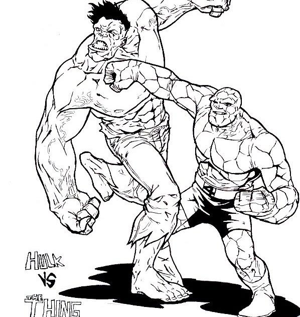 Desde lo ficticio a lo real: Hulk vs La Cosa