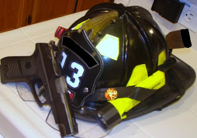 Retired Fireman's Helmet
