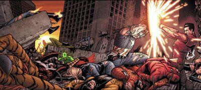 Civil War, um arco de hist�rias em quadrinhos da Marvel Comics
