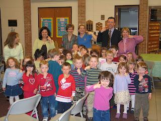 school presentations- friends preschool milford mi