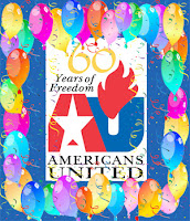 Americans United, 60th anniversary logo